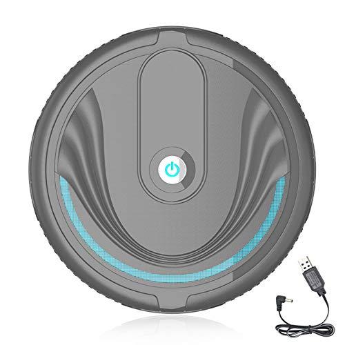 AchidistviQ Inicio Automático Smart Floor Cleaning Robot Sweeper Removedor De Polvo Sin Succión Super Silencioso Aspiradora Automática Para Pelo De Mascotas Blanco Recargable