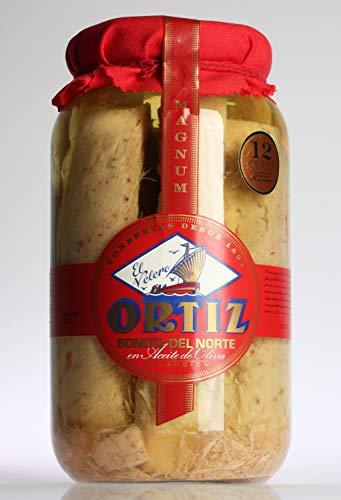 Bonito del Norte en aceite de oliva 2,9Kg tarro cristal Ortiz por Zapore Jai