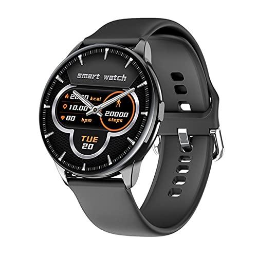 XYZK Moda Deporte Smartwatch Mensaje Notificación Control De Música Información del Tiempo Y90 Smart Watch Band,A
