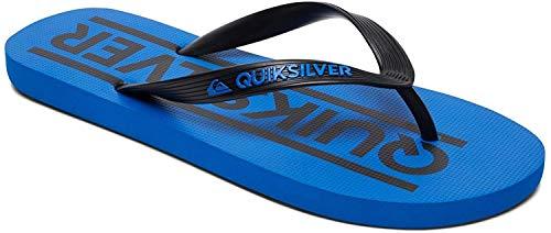 Quiksilver Jungen Java Wordmark Dusch- & Badeschuhe, Schwarz (Negro/(Xkbk Black/Blue/Black) Xkbk), 35 EU