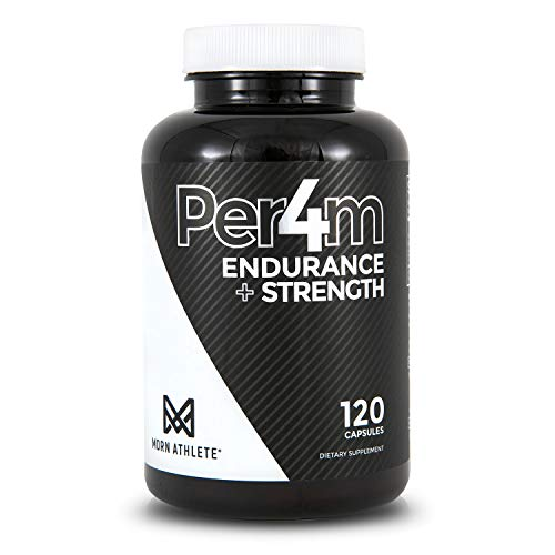 MDRN Athlete Per4m™ | Keto Friendly | Creatine HCl & Peak02® | Endurance & Strength | Natural Anabolic | Muscle Builder | (30 Servings)
