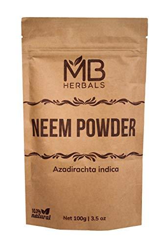 MB Herbals Pure Neem Leaf Powder 10…