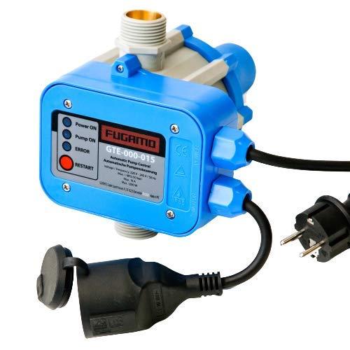 Pumpensteuerung mit Trockenlaufschutz (max 10 bar), Druckschalter verkabelt, Gartenbewässerung