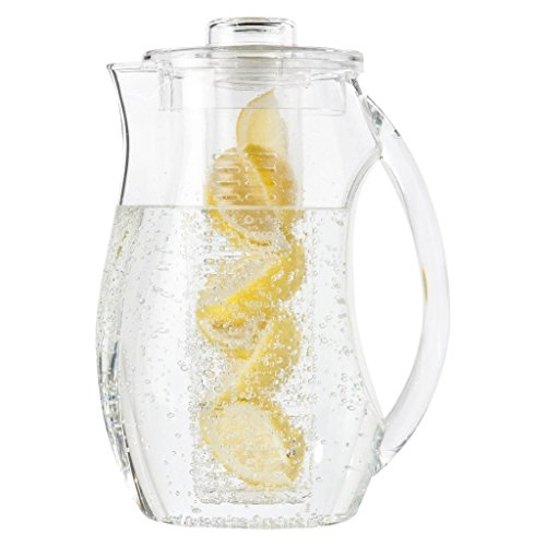Tea and fruit infuser with large pitcher