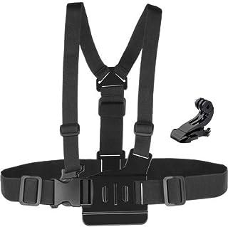O RLY Adjustable Chest Body Strap Harness Mount+J Mount GoPro Hero 4 5 6 7Black 8 Cam SJCAM/Apeman/campark/akaso Action Ca...