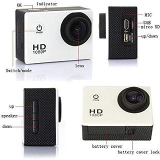 كاميرا رياضية رياضية للغوص Full HD DVR 30M مقاومة للماء 1080P G Senor