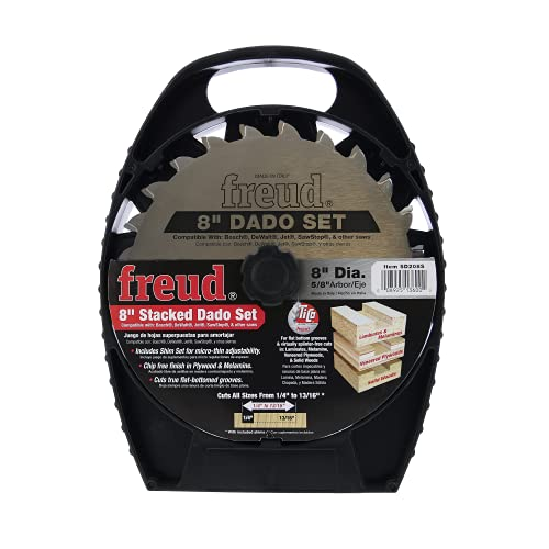 Freud 8' Stacked Dado Set for All Saws (SD208S)