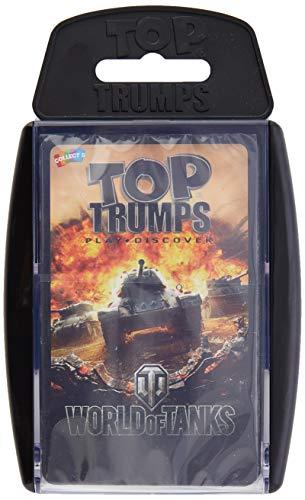 Top Trumps- Juego de Cartas World of Tanks, Multicolor (Winning Moves 036009)