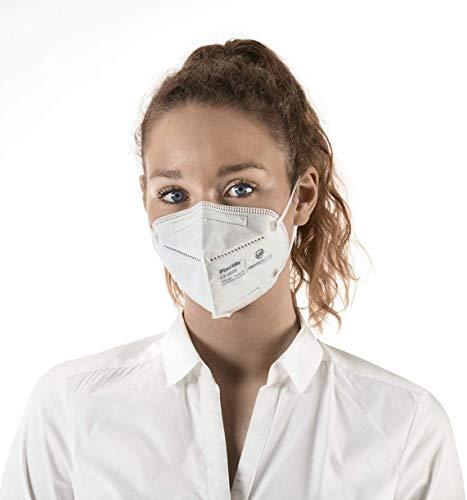 Hochwertige FFP2 NR Atemschutzmasken – 10 Stück – CE Zertifiziert (CE0598) Protecticure RY508-P2 - 5