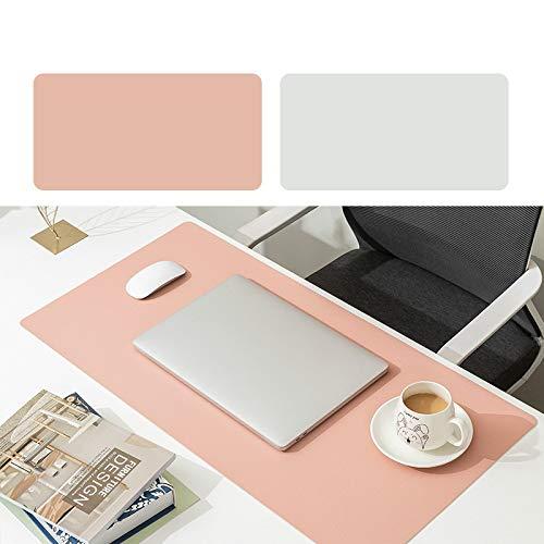 Alfombrilla de ratón de cuero impermeable de la oficina de la almohadilla de escritorio del cuero del cojín de ratón del multicolor grande de