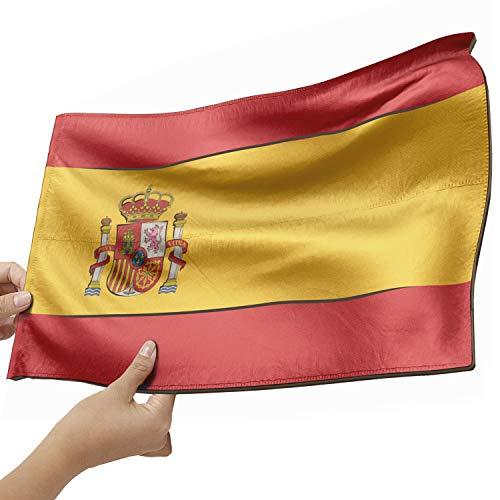 Spanien Flagge als Lampe aus Holz - schenke deine individuelle Spanien Fahne - kreativer Dekoartikel aus Echtholz