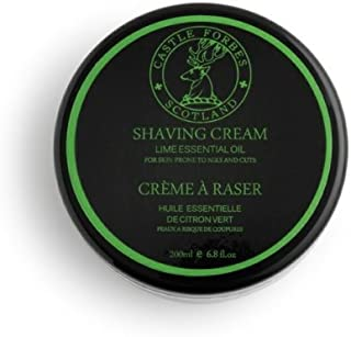 Castle Forbes Lime Oil Shaving Cream, 6.8 fl. oz. by Castle Forbes