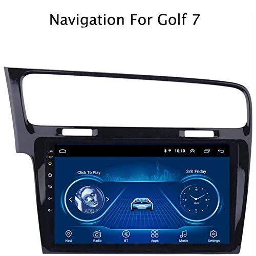 XXRUG Estéreo de Coche para Volkswagen Golf 7 2014-2018 GPS Navigator 9 Pulgadas Android 8.1 Doble DIN Mapa satélite Dispositivo Multimedia Radio Receptor carplay DSP RDS