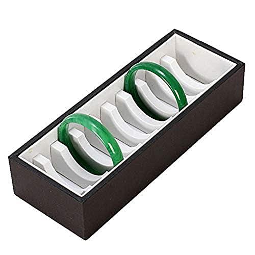 Caja de manija Soporte de Caja de aretes Caja de joyería Bandeja de Almacenamiento de Gemelos para niñas Mujeres