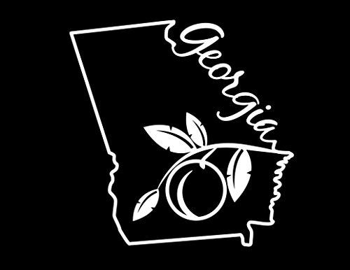georgia peach decal - 8