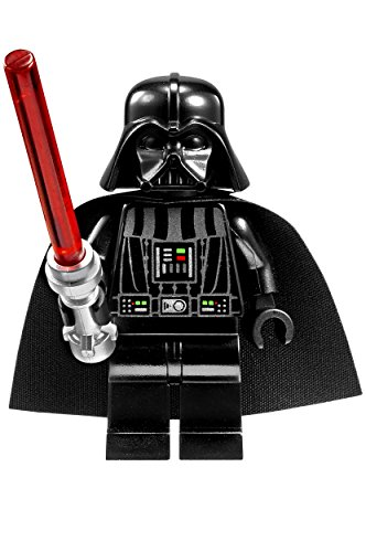 LEGO Star Wars 8020301 Darth Vader Kids Buildable Watch with Link Bracelet and Minifigure | black/red | plastic | 25mm case diameter| analogue quartz | boy girl | official