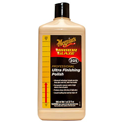 Meguiar's M20532 Mirror Glaze Ultra Finishing Polish, 32 Fluid Ounces, 1 Pack