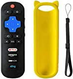 Motiexic Remote Control Compatible with TCL Roku TV RC280 RC282 55S405 40S3800 50UP120 65S401 32S301 32S850 32s305 32S3700 32S3750 43FP110 43UP120 48FS3700 48FS3750 50FS3850 50UP120 28S3750 32FS3700