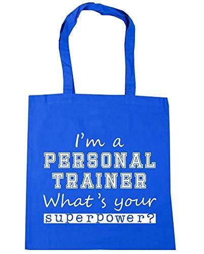 Wennuna I'm A Personal Trainer What's Your Superpower? Einkaufstasche/Strandtasche