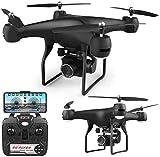 Drone WiFi FPV con cámara HD 1080P, Control de Voz, Control de Gestos RC Quadcopter para Principiantes con retención de altitud, Sensor de Gravedad, RTF One Key Take Off/Aterrizaje