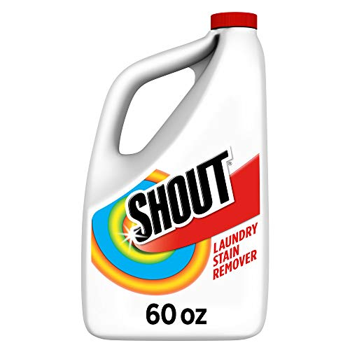 Shout Triple-Acting Laundry Stain Remover for Everyday Stains Liquid Refill, 60 fl oz