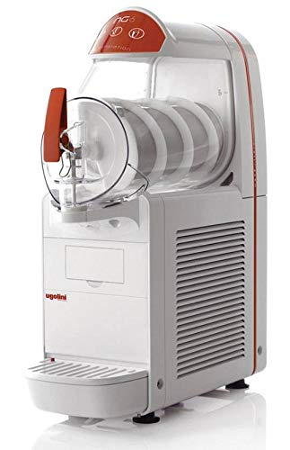 UGOLINI NG6/1 EASY - Máquina para granizados sorbetes cremas frías - Contenedor de 6 litros - Dispensador fabricado en Italia