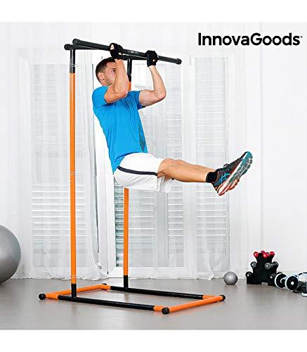 Innova Goods Estação de Elevações e Fitness com Guia de Exercícios - V0100921