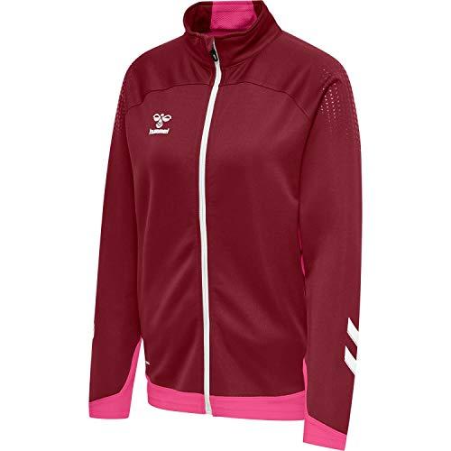 Hummel Damen Trainingsjacke Lead Poly Zip Jacket 211854 Biking Red S