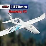 DYNAM RC Trainer Airplane Hawksky V2 1370mm w/o Tx,Rx,Battery