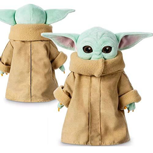 UYTTlhk Niño Yoda Juguetes de Peluche, Mandalorian Yoda Baby, Star Wars Animatronic Mini Yoda, Marioneta Yoda Muñeca para niños Regalos