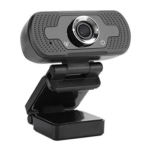 Cucudy Webcam HD 1080 P Streaming USB Câmera do computador 30fps para desktop Laptop Videoconferência Microfone embutido Câmera do computador