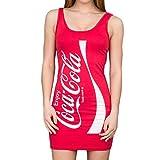 Coca-Cola Coke Red Tunic Tank Dress (Juniors Small)