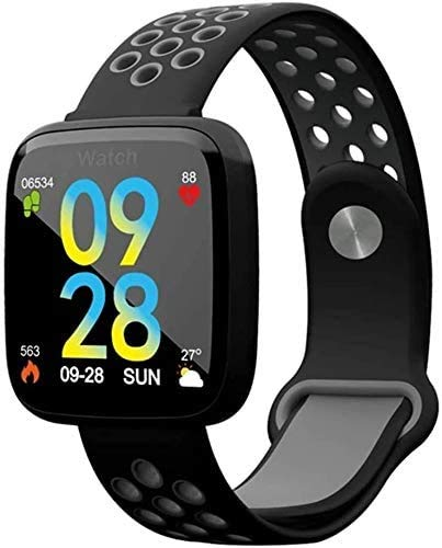 GANG Fitness Tracker Precision Smart Watch Pantalla Táctil, Pedómetro Contador de Calorías, Monitor de Ritmo Cardíaco Sphygmomanometer Cámara Bluetooth Sport Fitness Tracker Exclusi