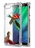 Oihxse Compatible pour Motorola Moto G6 Play / E5 Silicone Cover, Coque en Transparent TPU Doux...