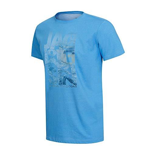 Jack Wolfskin Atlantic Ocean T-Shirt Homme T-Shirt Homme Wave Blue FR : M (Taille Fabricant : M)