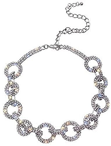 WYDSFWL Collar Anillo Cadena de Cuello Cadena de clavícula Collar Mujer Regalos