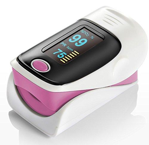 Denshine Color OLED pulsioximetro pediatrico Oximetro de dedo Con Alarma...
