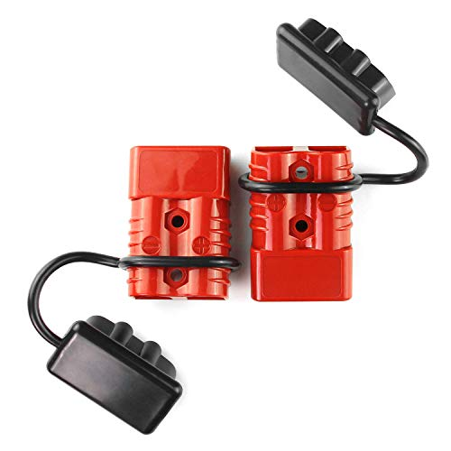 AURELIO TECH Universal 2-4 AWG 175A Battery Connect Quick Connector Plug for 12V Winch Trailer Driver Electrical Devices
