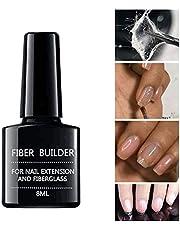 Nail Extension Fiber Glass Gel,Fake Tips Builder Glass Fibers UV Varnish Lacquer for Professional Nail Art Natural Nails