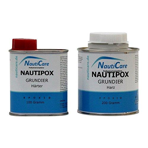 NautiCare Grundierharz | 300 g | Epoxyprimer Set mit Epoxidharz und Härter - NautiPox