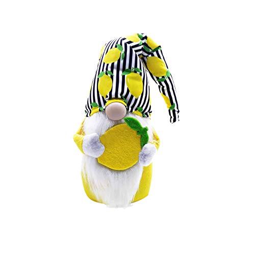 Vobery Decoracin de Pascua Gnomos de Peluche Regalos Festivos Decoraciones Artesanas Gnomos Decoraciones para El Hogar de Pascua Decoraciones de Mesa