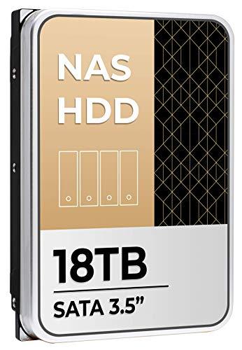 18TB NAS HDD SATA III 7200RPM 512MB Cache 3.5-Inch Internal Hard Drive