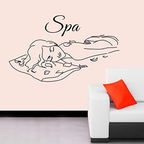 Tianpengyuanshuai massage spa sticker schoonheidssalon sticker vinyl muursticker decoratie muurschildering schoonheidssalon spa sticker