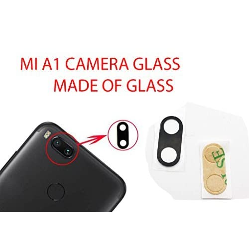 Anonymous Back Camera Glass Lens Replacement with Adhesive Replacement for Xiaomi Mi A1