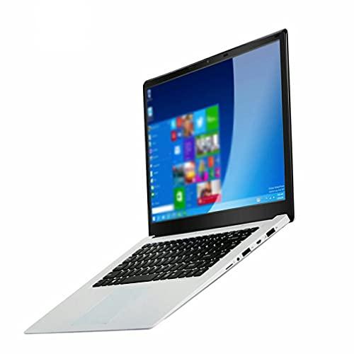 Ymxcwer85851 Computadora portátil Procesador de Cuatro núcleos Ultrafino sin computadora portátil Suave y Estable, Plateado, EU