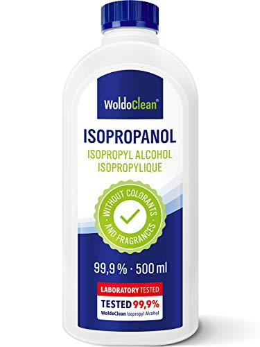 Isopropanolo 99,9% alcool detergente 500 ml - alcool isopropilico
