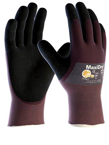 ATG atgmdry56–425–10verschiedenen Liquid Proof Nitril Foam Palm beschichtet Grip Handschuh