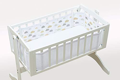 BREATHABLE BABY UK LIMITED Tour de lit en maille sur nuage 9-6 fils
