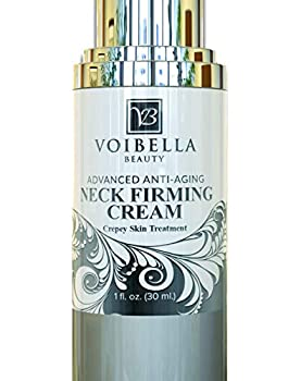Best Neck & Chest Firming Cream for Sagging Crepey Skin & Wrinkles Anti-Aging Crepe Eraser Turkey Neck Tightener & Decolletage Lotion Works for Tightening Decollete Double Chin Arms Body & Face