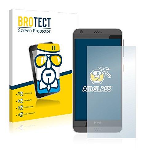 BROTECT Panzerglas Schutzfolie kompatibel mit HTC Desire 530 - AirGlass, extrem Kratzfest, Anti-Fingerprint, Ultra-transparent